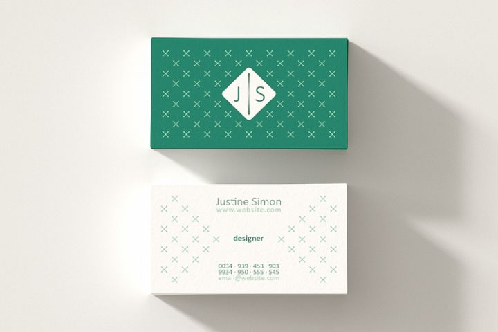 Printable Business Card Template.
