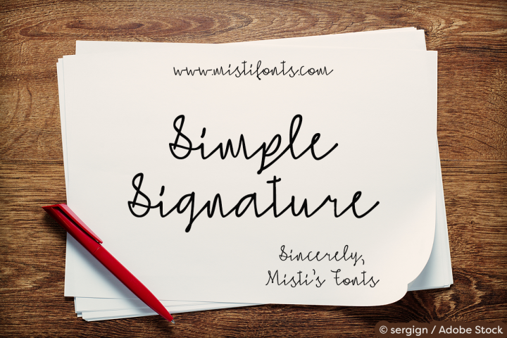 Simple Signature