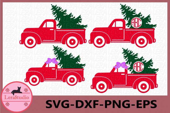 Christmas Truck SVG, Christmas Svg, Christmas Tree Truck