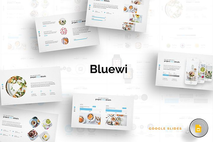Bluewi - Google Slides Template