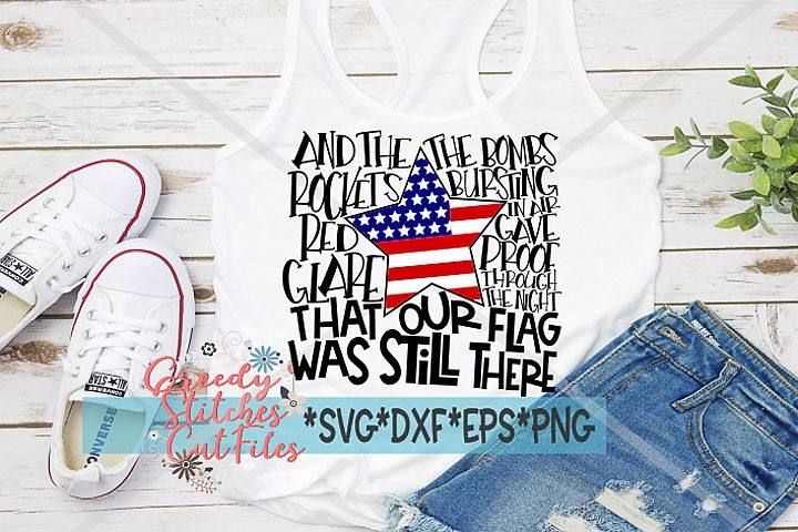 July 4th SVG, Independence Day SVG, DXF, EPS, PNG