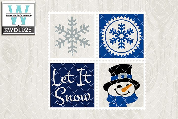 Winter SVG - Winter Stamp