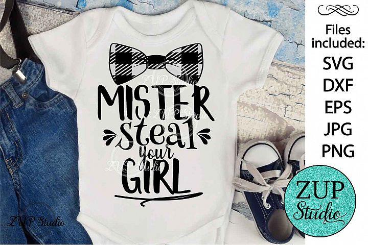Mister steal your girl SVG Digital Design Cutting file 356
