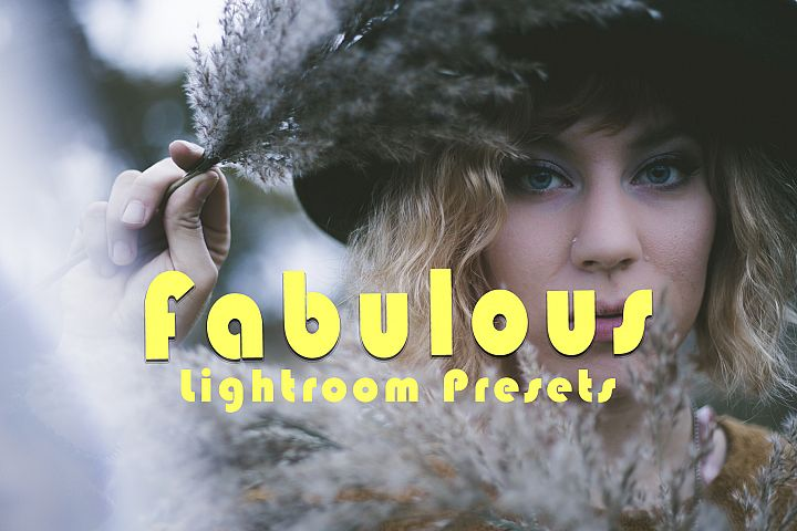 Fabulous Lightroom Presets and ACR - Adobe Camera Raw