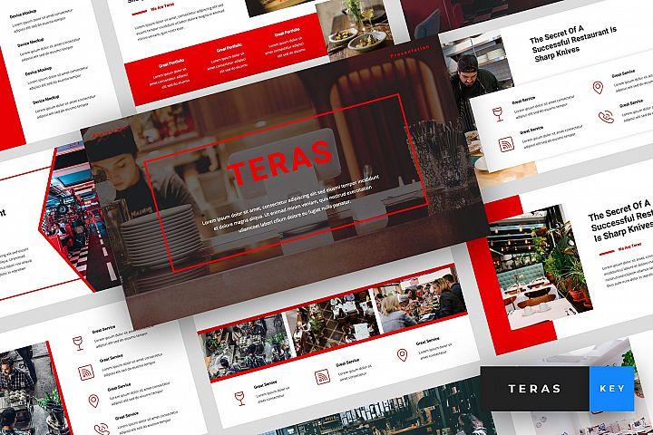 Teras - Restaurant Keynote Template