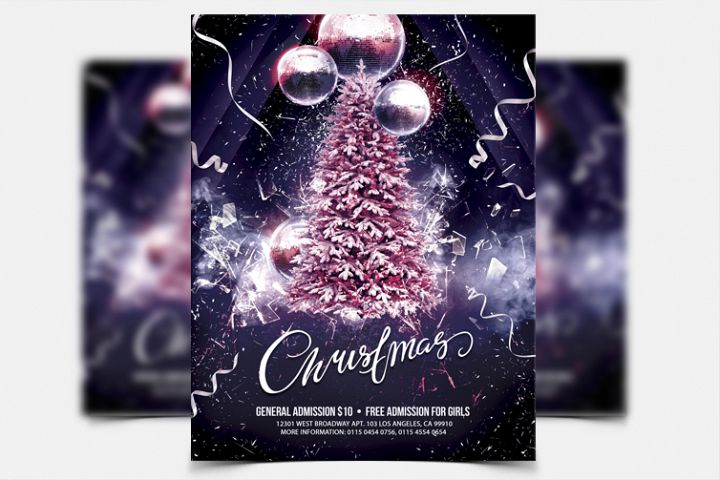 Christmas Party - PSD Flyer Template