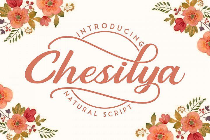 Chesilya | Natural Script