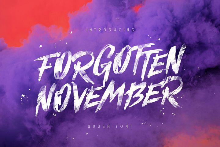 Forgotten November