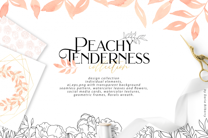 Peachy Tenderness example 1