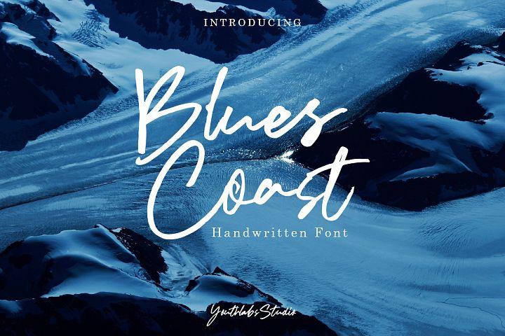 Blues Coast - Handwritten Font