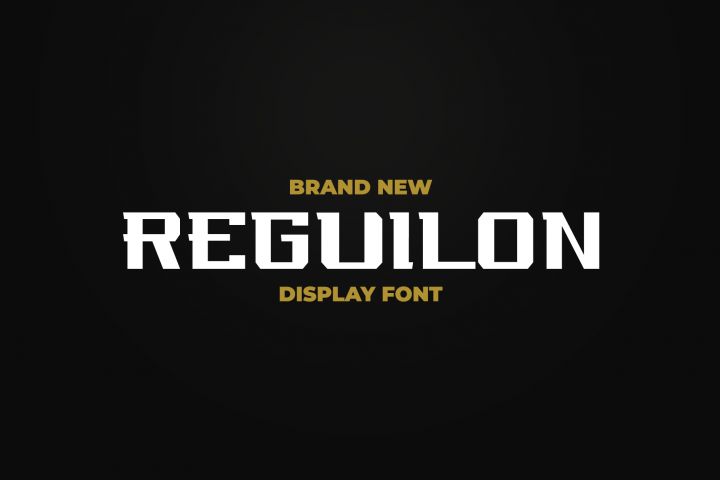 REGUILON Dispplay Font