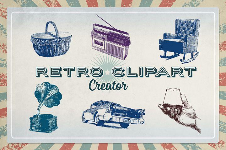 Retro Clipart Creator