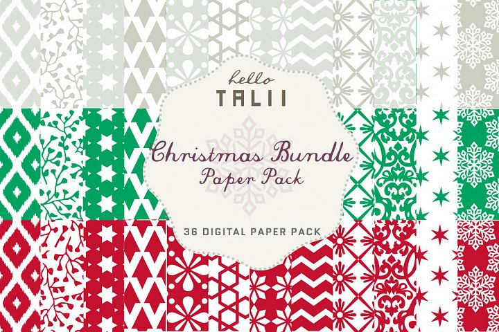 Christmas Bundle Paper Pack