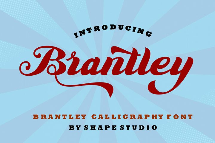 Brantley Script