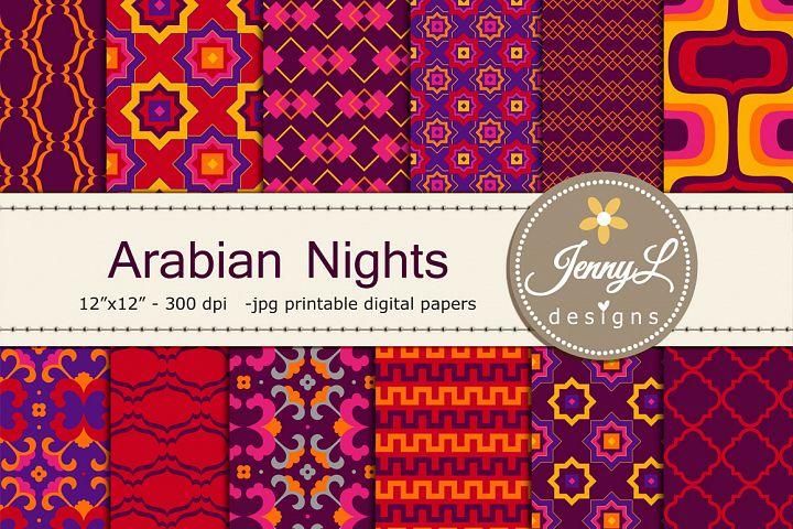 Arabian Desert Digital Papers