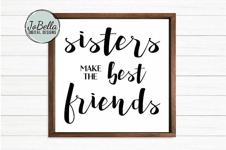 Sister SVG, Sublimation Design and Printable