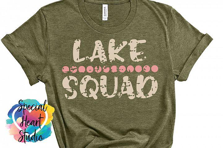 Lake Squad- A camping crew SVG