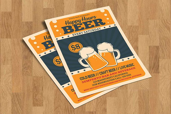 Retro Happy Hour Beer Festival