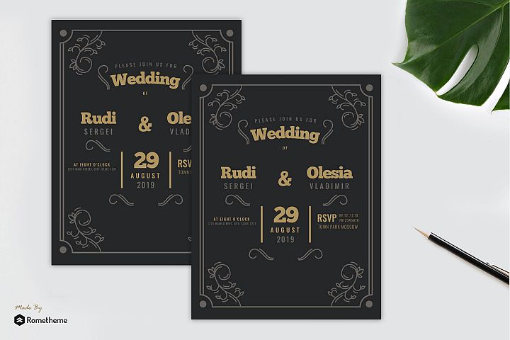 Wedding Invitation vol. 01