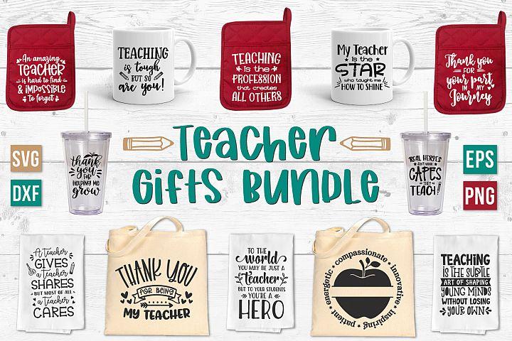 Teacher SVG Bundle, Teacher Appreciation, Teacher Gift Ideas