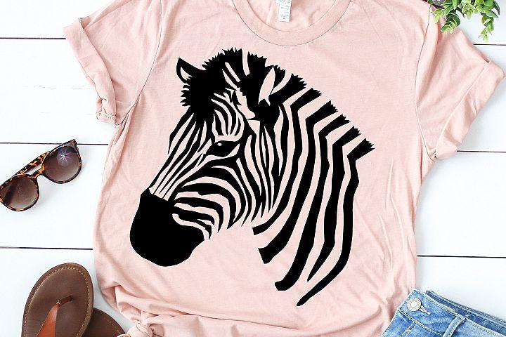 zebra silhouette cute