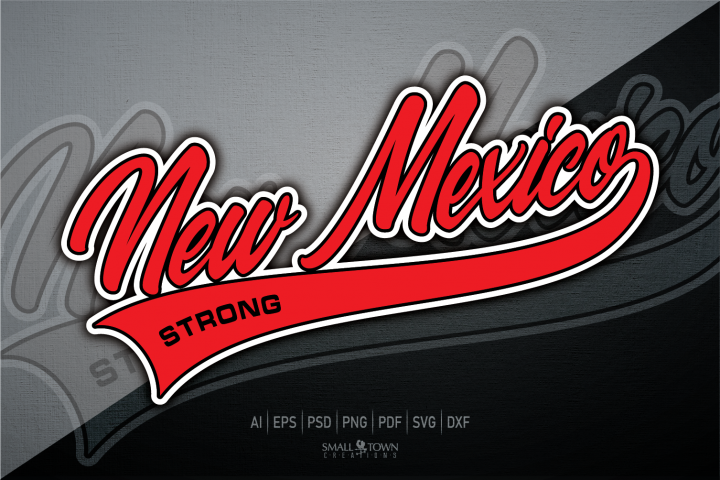 New Mexico, New Mexico Strong svg, PRINT, CUT, DESIGN