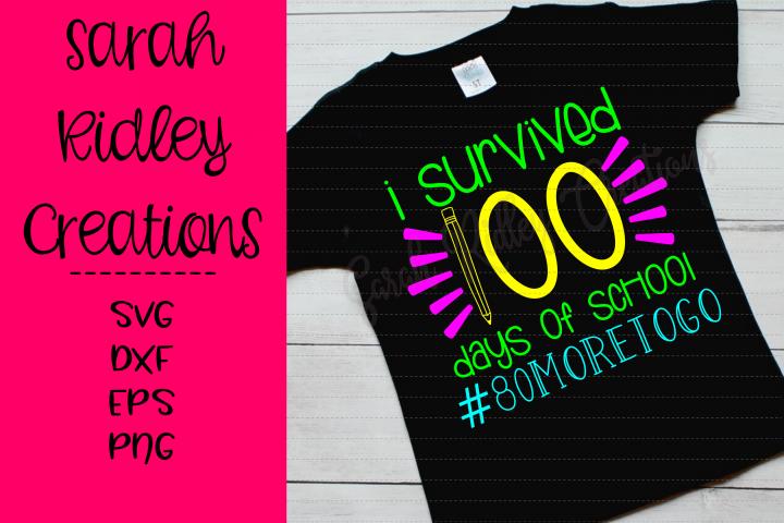 I Survived 100 Days of School #80moretogo