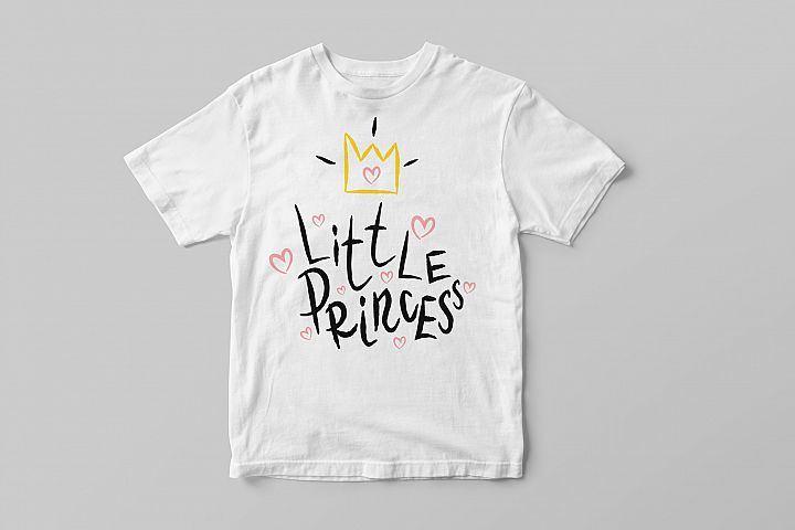 Little princess. Sublimation PNG.