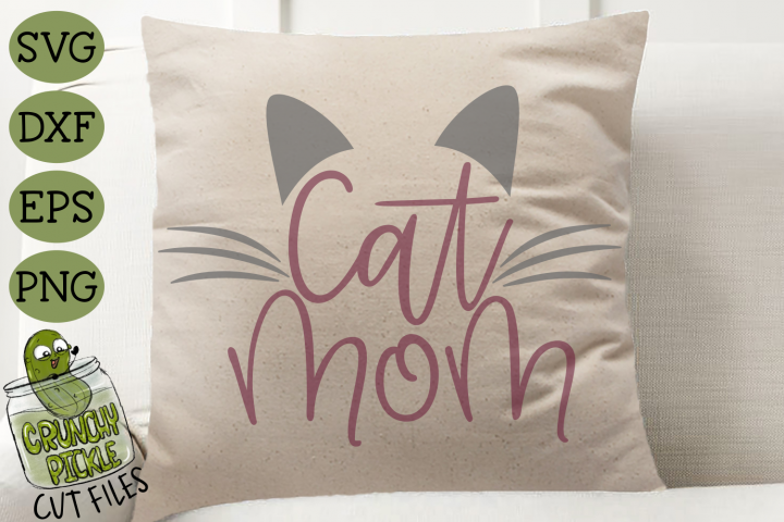 Cat Mom SVG