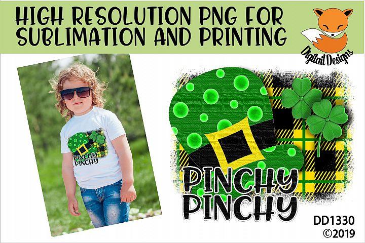 St Patricks Day Irish Funny Pinchy Sublimation Printable