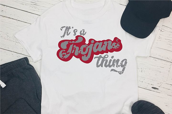 Sports SVG, Its A Trojans Thing SVG, Sports Sublimation