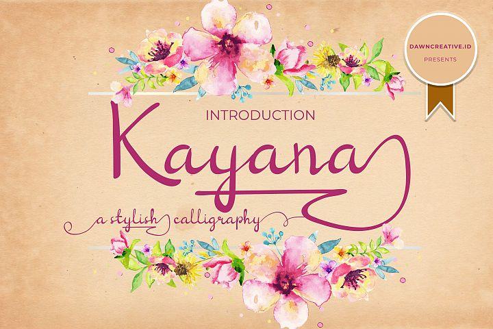 Kayana Script