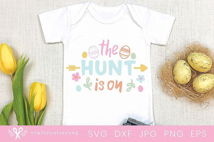 The hunt is on Svg Easter Egg Hunt Cut File for Cricut