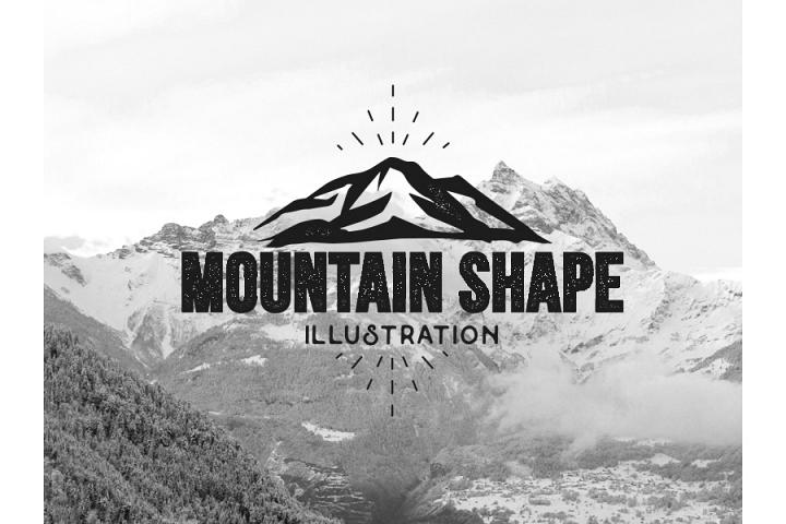 Mountain vector illustrations