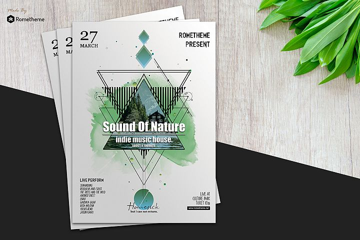 Music Flyer vol.03