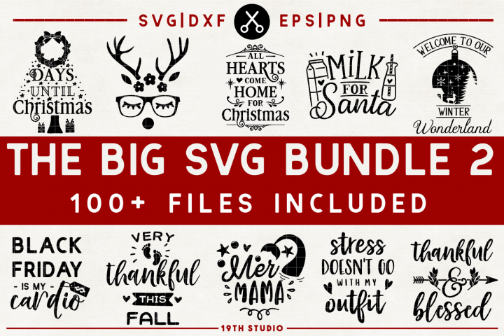 SVG Bundle - The Big SVG Bundle Vol.2