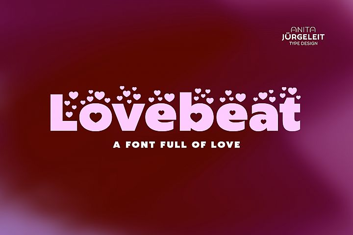 Lovebeat - Valentines Day Love Font
