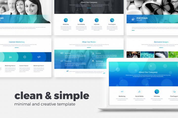Minimal, Clean, Simple Powerpoint Presentation