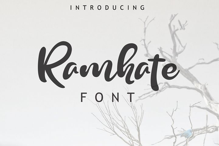 Ramhate Font