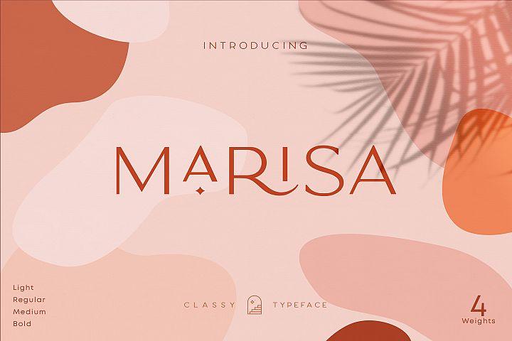 Classy Marisa - Elegant Fashion Stylish Typeface