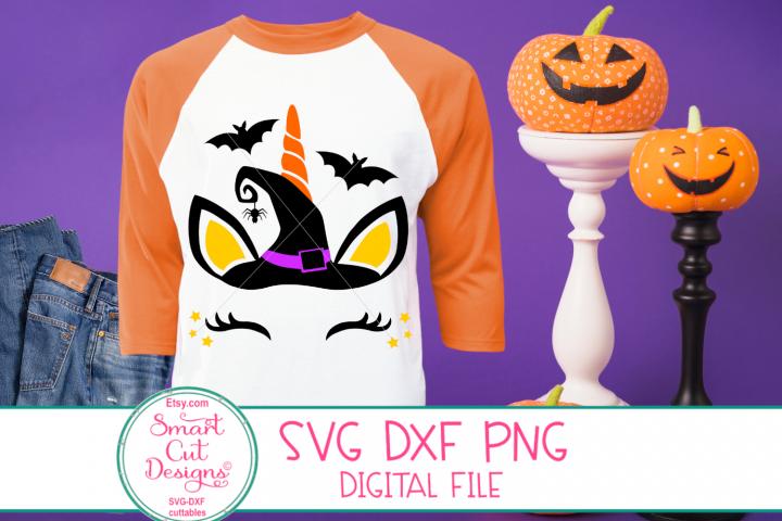 Halloween Unicorn SVG, Halloween, Girl, Unicorn, Baby, Kids