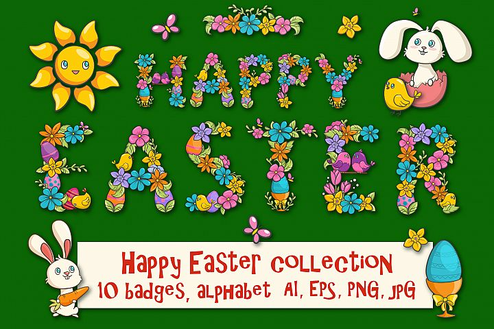 Happy Easter collection