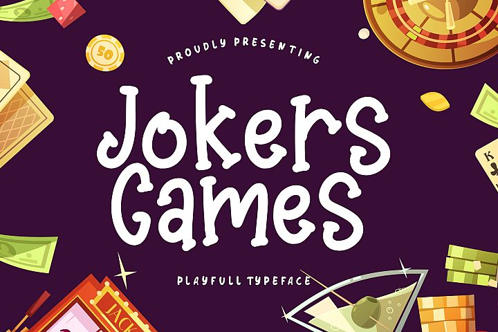 Jokers Games Child Play Typeface