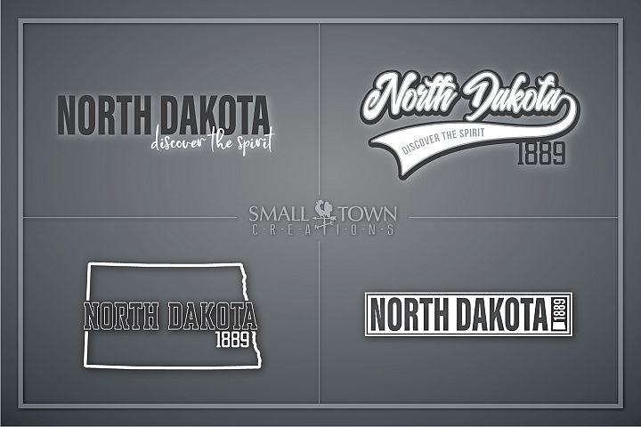 North Dakota, Discover the Spirit, logo, PRINT, CUT & DESIGN