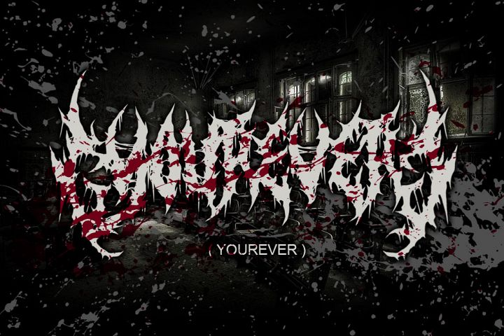 YOUREVER BRUTAL DEATH METAL FONT