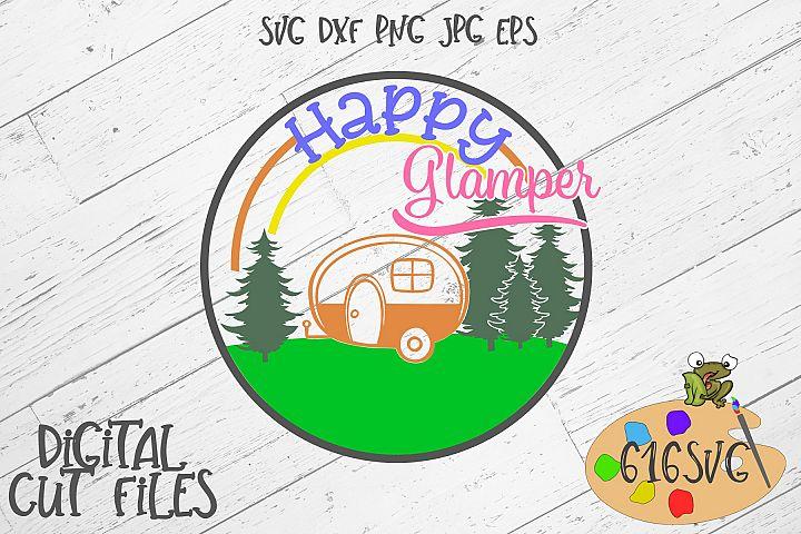 Happy Glamper SVG