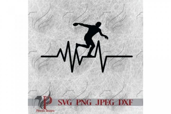 Discus Thrower SVG, Track SVG, Sports SVG