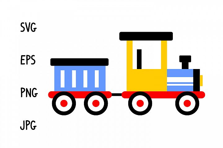 Cartoon trainsvg