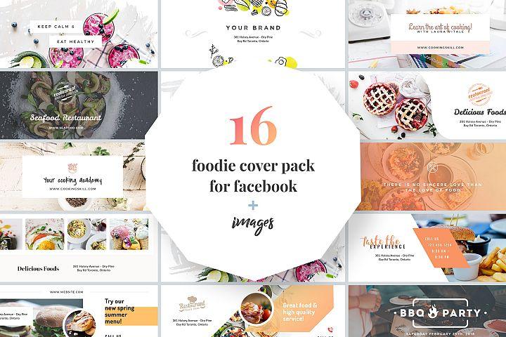 Foodie Facebook Cover Pack