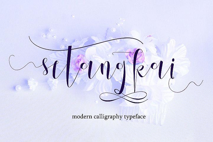 Setangkai Script